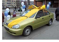 Компания «Автокредит», официальный дилер по продаже Shevrolet, Daewoo, ВАЗ, ЗАЗ, ГАЗ, подвела итоги акции «Два автомобиля по цене одного».