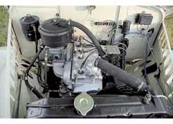 По нынешним понятиям двигатель не мощный (55 л. с.), но момент впечатляет: 127 Нм!