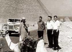 ГАЗ-69. Египет, 1971 год.