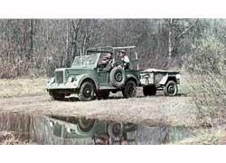 ГАЗ-69 на заводских испытаниях.