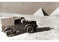 ГАЗ-69. Египет, 1970-е годы.