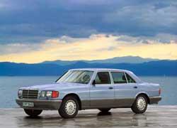 Элегантные и лаконичные линии кузова S-Кlasse (W126) до сих пор находят ценителей среди сильных мира сего.