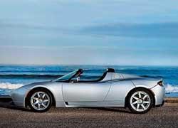В США компания Tesla Motors начала серийное производство электромобиля Tesla Roadster