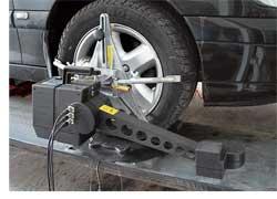 Регулировка узлов установки колес