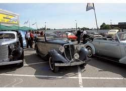 В этом году ожидается расширение экспозиции ретроавтомобилей.