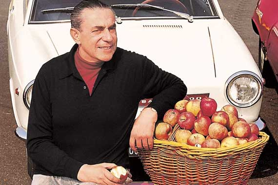 Карл Абарт (1908–1979 гг.)– известный гонщик и инженер– родился не в Италии, а в Австрии.