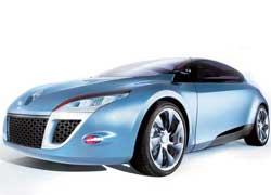 Renault Megane Coupe Concept. 2007 г.