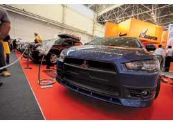 Львовская фирма Car Tuning впервые показала свой новый обвес для хита продаж Mitsubishi Lancer X.