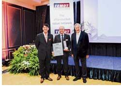Компания Tenneco, производитель амортизаторов Monroe, выхлопных систем и катализаторов Walker, второй год подряд награждается призом «За отличные показатели и партнерство».