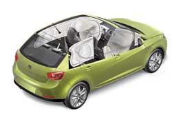 В Европе уже в базовой комплектации авто оснащают шестью подушками безопасности.