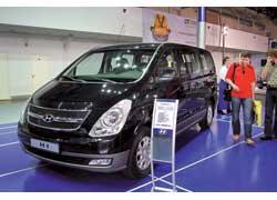 Коммерческий сегмент представлен новым поколением модели H-1. Восьмиместный микроавтобус со 170-сильным турбодизелем стоит от 176000 гривен.