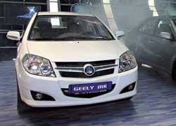 В последние месяцы надолю Geely MK приходится более 40% общих продаж помарке Geely.