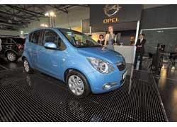 Самый маленький Opel – Agila поступит в салоны украинских дилеров в конце этого года.