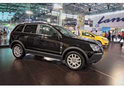 Новый внедорожник Opel Antara может комплектоваться экономичным 2,0-литровым дизельным двигателем (150 л. с.).