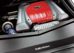 В качестве основы для высокотехнологичных наддувных силовых агрегатов Spirra используются моторы Hyundai V6.