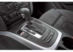 Впервые Audi оборудовали вариатором с восемью фиксированными «передачами».