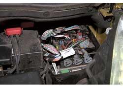 Контакты электропроводки и сама проводка не пострадали.