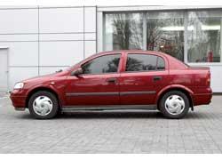 Кузова Opel Astra (G) оцинкованы, поэтому коррозии нет.