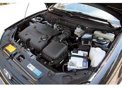 Облегченные поршни и шатуны прибавили мотору 9 л. с. мощности (98 л.с.), и 14 Нм тяги (146 Нм).