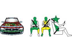 Audi A4. Защита пассажиров и пешеходов