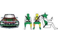 Ford Kuga. Защита пассажиров и пешеходов