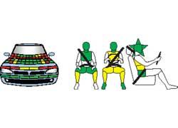 Seat Ibiza. Защита пассажиров и пешеходов