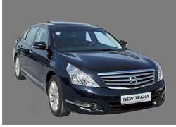 В Крыму 19-20 июня журналистам презентовали седан бизнес-класса Nissan Teana второго поколения.