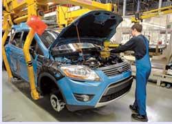 Производство Ford Kuga