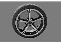 Стиль AC Schnitzer: дизайн «колесика» бортового контроллера iDrive имитирует форму тюнингового легкосплавного диска.