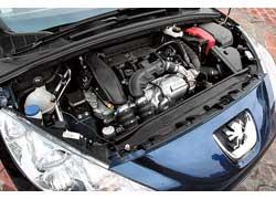 Универсал унаследовал от хэтчбека 308 широкую линейку бензиновых и дизельных силовых агрегатов мощностью от 95 до 175 сил.