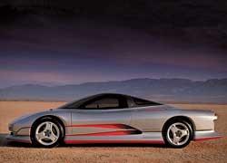 С 1987 по 1997 год была создана серия из шести необычных футуристических концептов спортивных автомобилей будущего – HSR. На фото представлен вариант HSR II образца 1989 года.