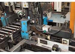 Трубу для корпуса закупают у предприятий, специализирующихся на металлопрокате. Нарезка заготовок, их горячая завальцовка и контроль размеров осуществляются на автоматизированной линии.