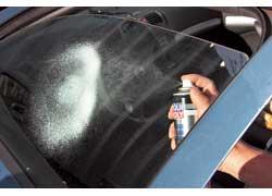 Автоомыватели стекол несодержат опасного для тонировки «нашатыря».