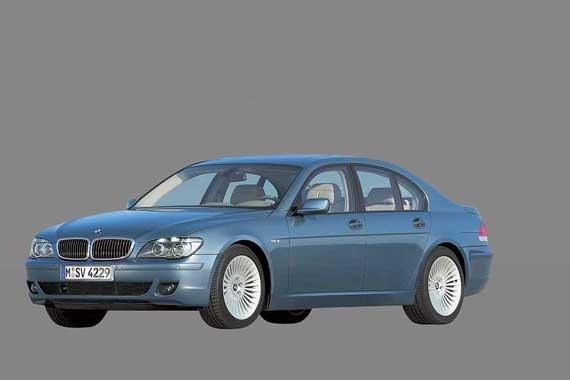 Четвертое поколение BMW 7 Series (2001–2008)