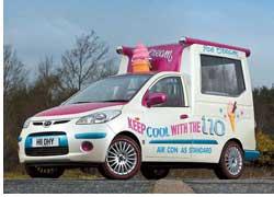 Мини-фургон для мороженого – Ice cream van