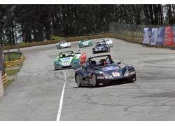 На украинском автодроме «Чайка» состоялся первый этап российской Национальной гоночной серии Lada-2008.