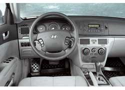 Hyundai Sonata. Дорестайлинговая версия (