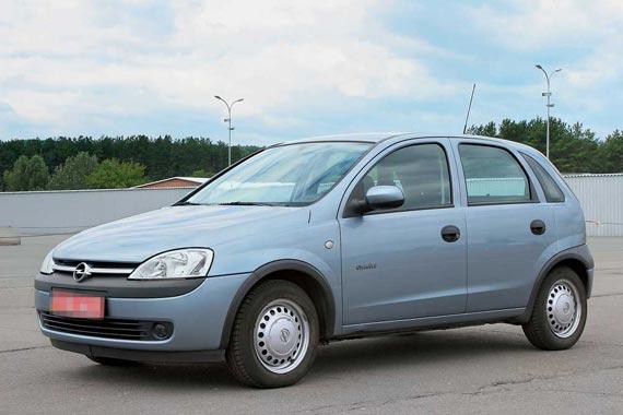Opel Corsa (С) 2000–2006 г. в. от $8000 до $16000