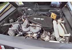 После установки катализаторов 2,8-литровый мотор развивает более чем скромную мощность 130 л. с.