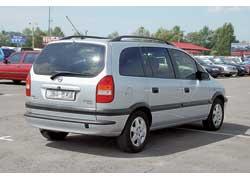 Opel Zafira 1999–2005 г. в. от $12500 до $20000