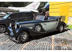Horch 853A 1938 г. в. – один из самых красивых автомобилей своего времени. После войны машина была вывезена в Советский Союз. Сменив нескольких хозяев, она оказалась в музее.