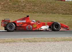 2005–2008: Ferrari, тест-пилот