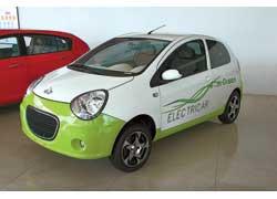 Электромобиль Geely LC-E создан на базе субкомпакта Panda, который запустят в производство в конце нынешнего года.