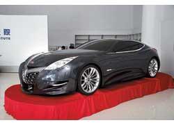 Суперкар Geely GT через два года отправится на конвейер.
