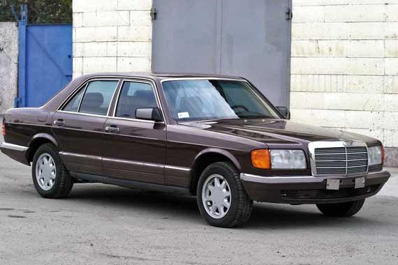 Mercedes S-Klasse (W126) 1985–1991 г. в. от $5 000 до $13 300