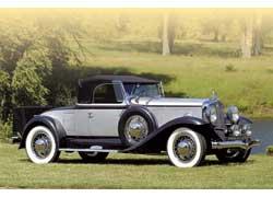 1931 Studebaker President Four Seasons Roadster.