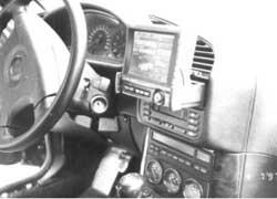 Видеомонитор SVA-1000 в рабочем состоянии.