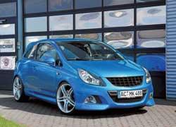Самый маленький представитель «заряженной» линейки Opel от OPC – Corsa подверглась вмешательству мастеров фирмы Steinmetz.