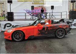 Часто приходится видеть Honda с турбиной? А вот всем побывавшим на  Car&Tuning  Show довелось. Эту S2000 сделали в Киеве.