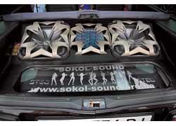 Умению так плотно упаковывать багажник «Самары» можно позавидовать… 1 место ESPL Rookie 4 Woofer